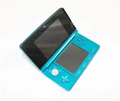 Nintendo 3ds Aqua Blue Small nintendo 3ds aqua blue system discounted