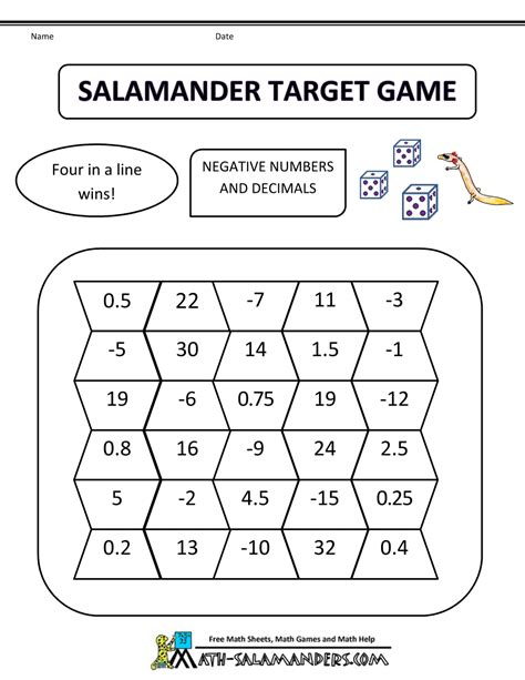 Fifth Grade Worksheets by Math Fifth Grade Salamander Target 5th Grade Bw