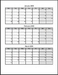 best photos of quarterly planner template 3 month