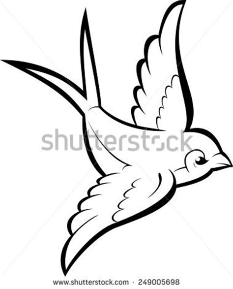 bird outline stock images royalty free images amp vectors