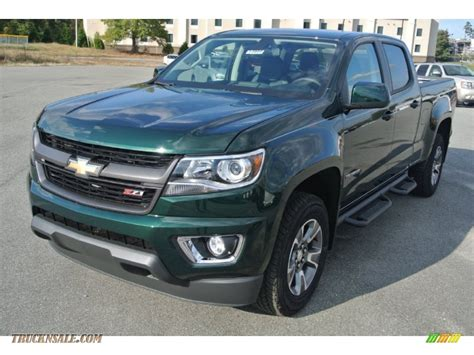 chevy colorado green 2015 chevrolet colorado z71 crew cab 4wd in rainforest