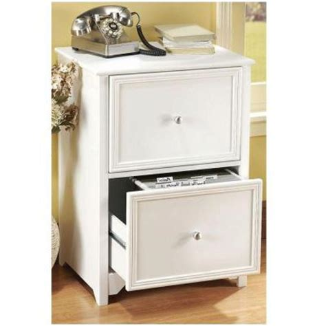Home Decorators Collection Oxford 2 Drawer Wood File White Wood File Cabinet 2 Drawer