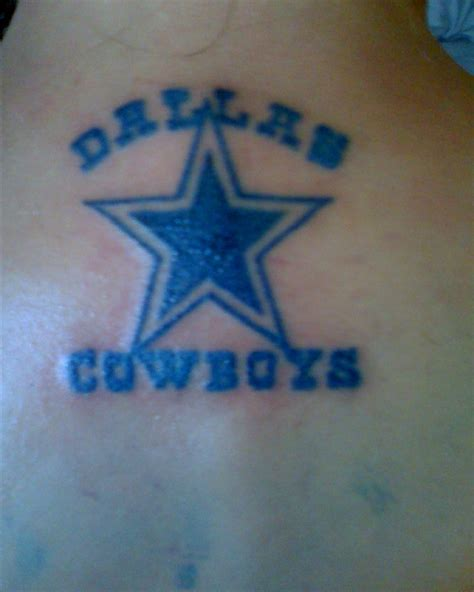 cowboys tattoo dallas cowboys tattoos gallery