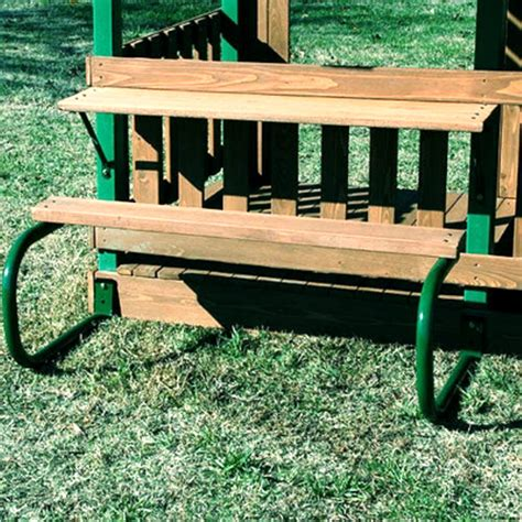 swinging picnic table new add on kids picnic table for woodridge playground