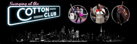 swinging at the cotton club tour dates the show
