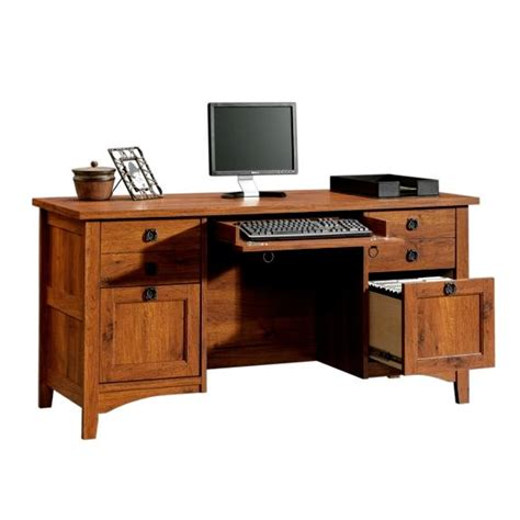 Mission Style Office Furniture craftsman style desk plans free