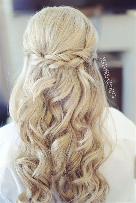 Wedding Hairstyles Hair Put Up by How To Put Up Wedding Hair Half Up Bridal Hairstyles Fade