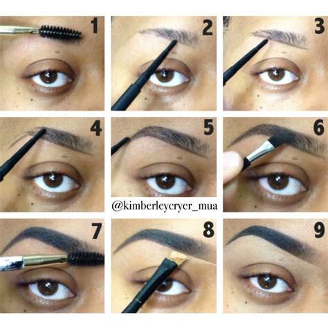 natural eyebrow makeup tutorial for beginners how to apply eyebrow makeup for beginners saubhaya makeup