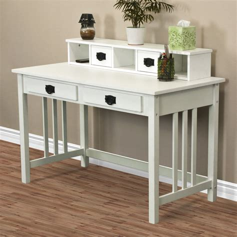 solid wood white writing desk writing desk mission white home office computer desk solid