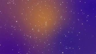 galaxy animation with shining light particle stars on