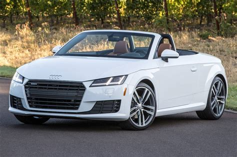 audi tt convertible for sale used 2017 audi tt convertible pricing for sale edmunds