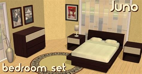 sims 2 bedroom sets mod the sims juno bedroom set 5 new meshes by request