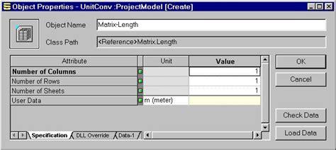 unity matrix layout using matrix objects