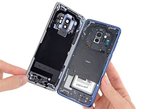 teardown shows samsung galaxy s9 battery specs match those