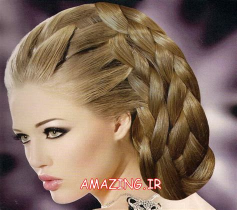 new hair model 2014 جدیدترین مدل مو عروس ۲۰۱۴ شینیون مو عروس مو 2014