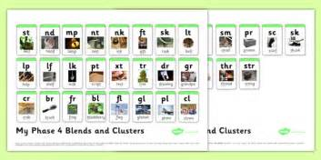 Phonics Phase 4 Sound Mat by Blends And Clusters Phase 4 Sound Mat Literacy Phonics