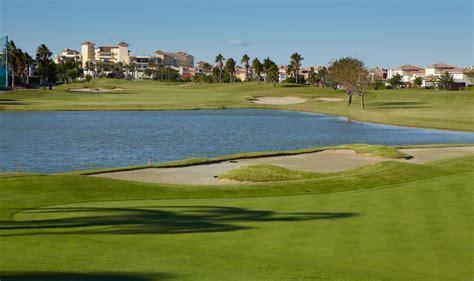 spela golf  halv greenfee pa ugolf mar menor golfhaeftet