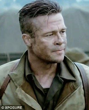 wardaddy hairstyle hairstyle advice brad pitt s fury short hairstyle