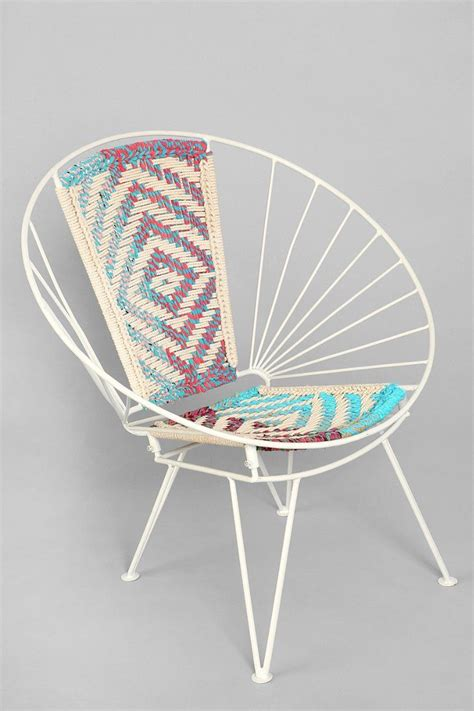 Wire Chair by Magical Thinking Woven Wire Chair Outfitters