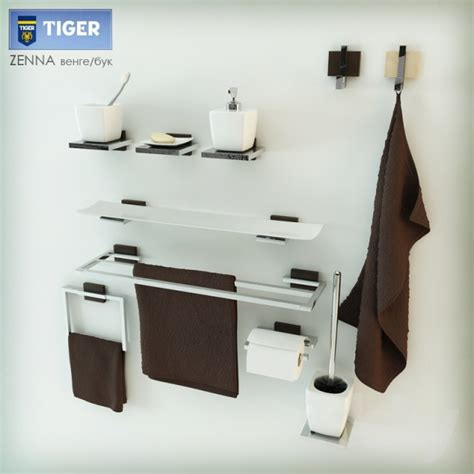 tiger bathroom accessories 3d models bathroom accessories tiger zenna