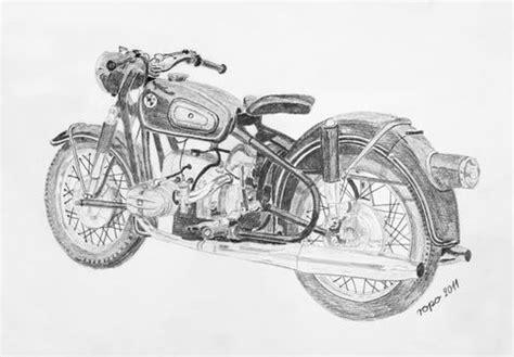 Motorrad Chopper Zeichnung by Bleistift Zeichnung Bleistiftzeichnung Motorrad Krad