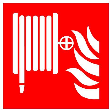 fire hose reel high quality vector sign  symbols