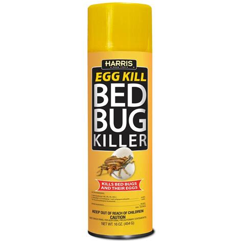 what kills bed bugs and their eggs harris 16 oz egg kill bed bug spray egg 16 the home depot