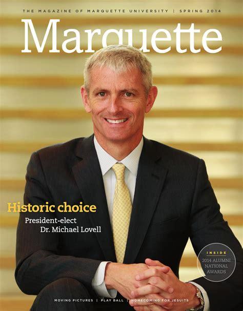 Englische David 1123 by Marquette Magazine 2014 By Marquette