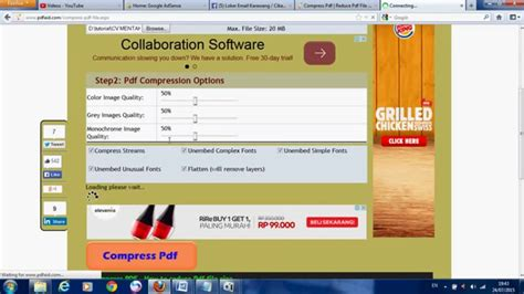 compress pdf mb to kb online cara kompres pdf jadi 300 kb how to compress pdf file up
