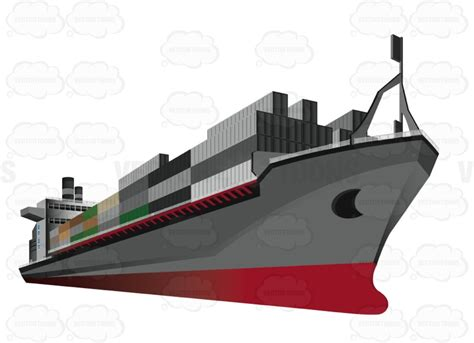 boats net shipping boat house clipart shipping container