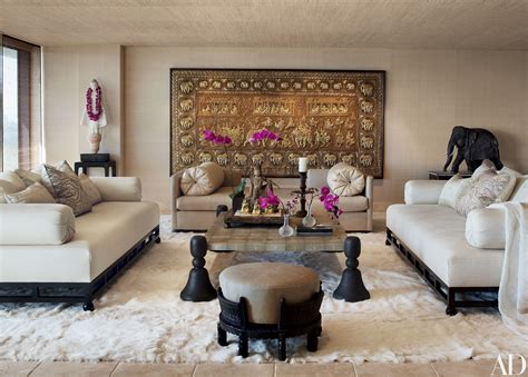 Home Decor Indian Style cher s los angeles high rise features decor from around