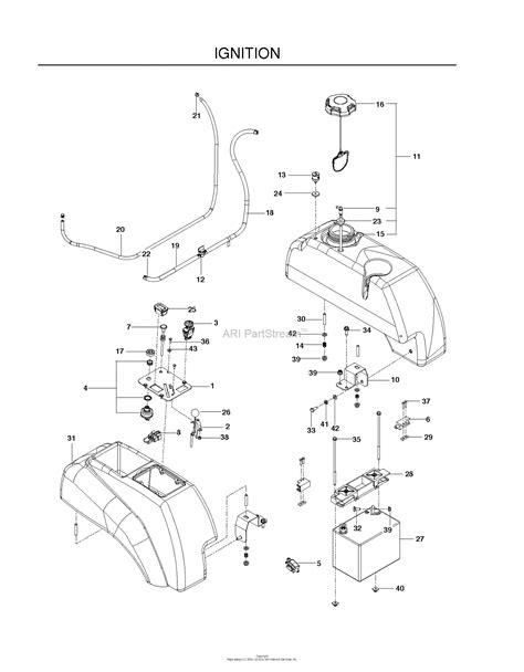 husqvarna mz5424s 967003901 2012 01 parts diagram for