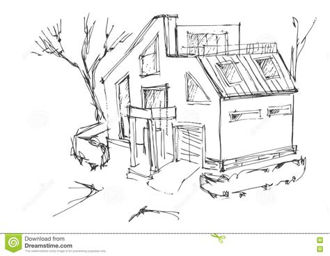 House Floor Plans And Prices a rough sketch of a modern home sketch of the cottage in