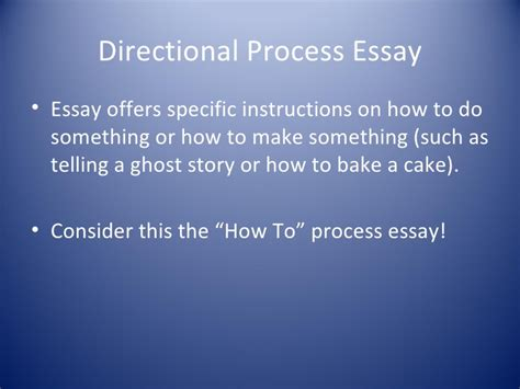 Define Process Essay by Process Essay Definition Extended Definition Essay Outline Thesis Essay Exle Exle