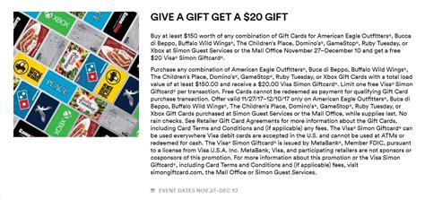 Free 20 Dollar Visa Gift Card - expired gift card deals simon rite aid dollar general on many brands frequent