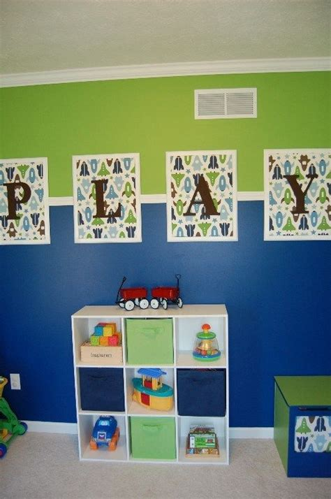 playroom wall hanging idea different fabric