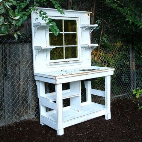 gardeners potting bench 187 best potting benches images on pinterest outdoor