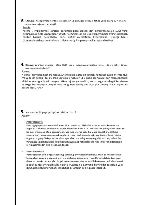 Manajemen Strategik 2 tugas 1 manajemen strategik