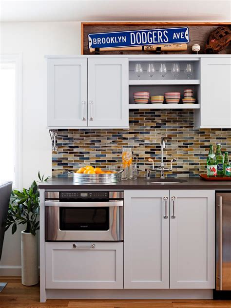 multi colored subway tile backsplash 27 kitchen backsplash designs home dreamy