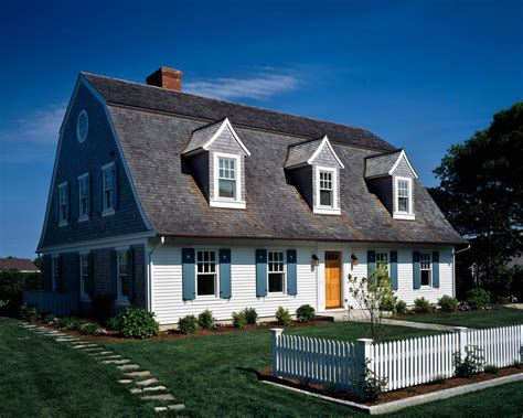 Pretty Dutch Colonial Trend Boston Beach Style Exterior Cape Cod Bedroom