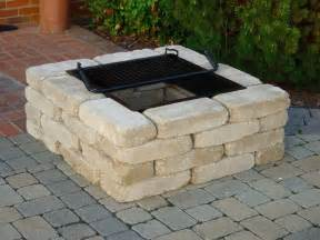 Square Firepit Square Pit Kit From Southern Tradition