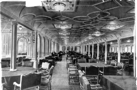 titanic 1st class dining room 1912 father francis browne 171 history photo of the day