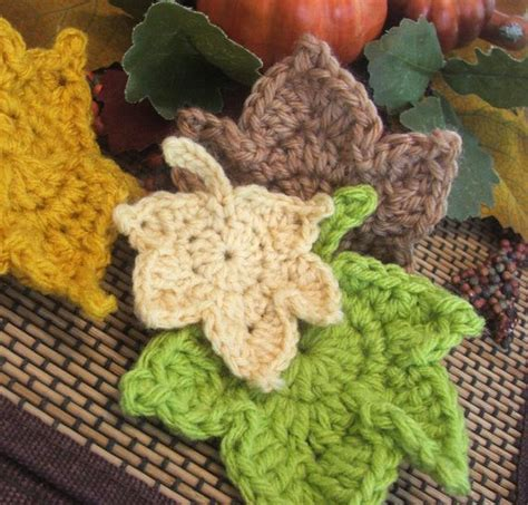 Cotton Japan Garis 22 crochet leaf patterns to celebrate the start of fall