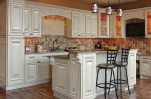 Cherry Wood Vanities Devon Raised Panel Cream White Kitchen Cabinets Solid
