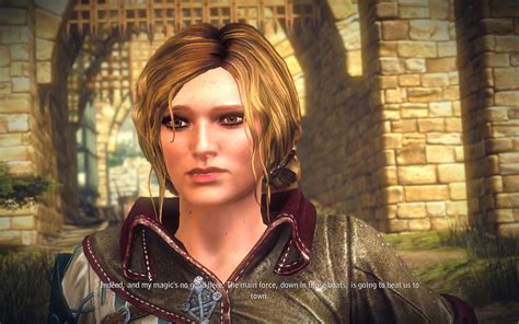 witcher 2 hairstyles triss new hair at the witcher 2 nexus mods and community