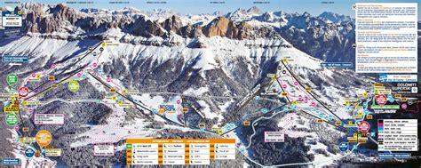 Home Office Room by Ski Map Carezza Ski Dolomites