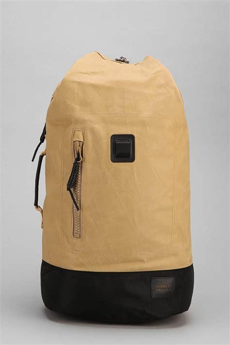 Origami Backpack - nixon origami backpack in khaki for lyst
