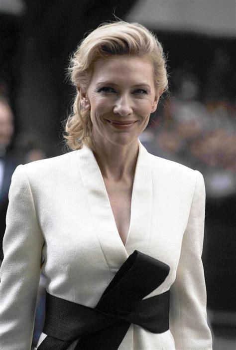 Giorgio Armani And Cate Blanchett Attend Armani Ginza Towers Light Up Ceremony by Cate Blanchett Leads At Giorgio Armani S 40th