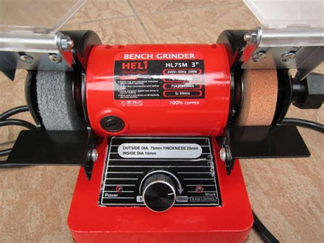 bench grinder with flex shaft heli 200w 3 quot mini bench grinder kit with flex shaft my