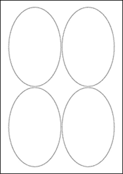 oval label templates 90mm x 136mm oval blank label template maestro label